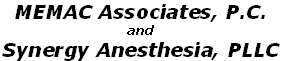 MEMAC Associates, P.C. and Synergy Anesthesia, PLLC have been acquired by American Anesthesiology, a subsidiary of MEDNAX, Inc.